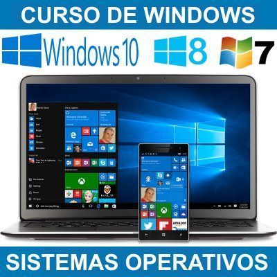 Curso de Windows 7 8 10 - Sistemas Operativos Windows para Empresas y Emprendedores en Murcia y Cartagena