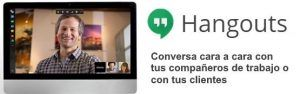 Video llamadas con Hangouts de google
